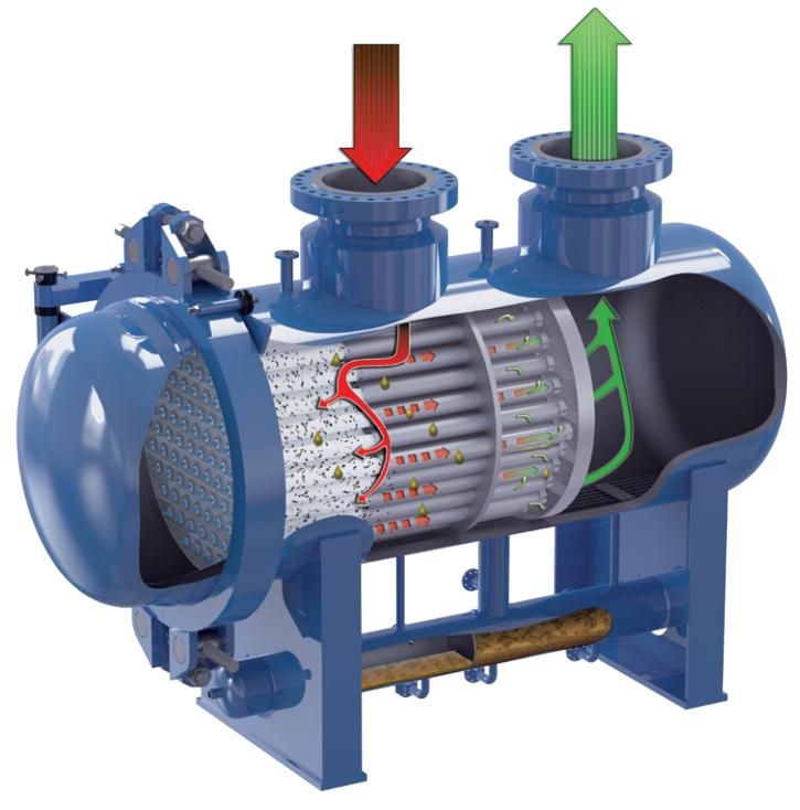 天然气聚结器